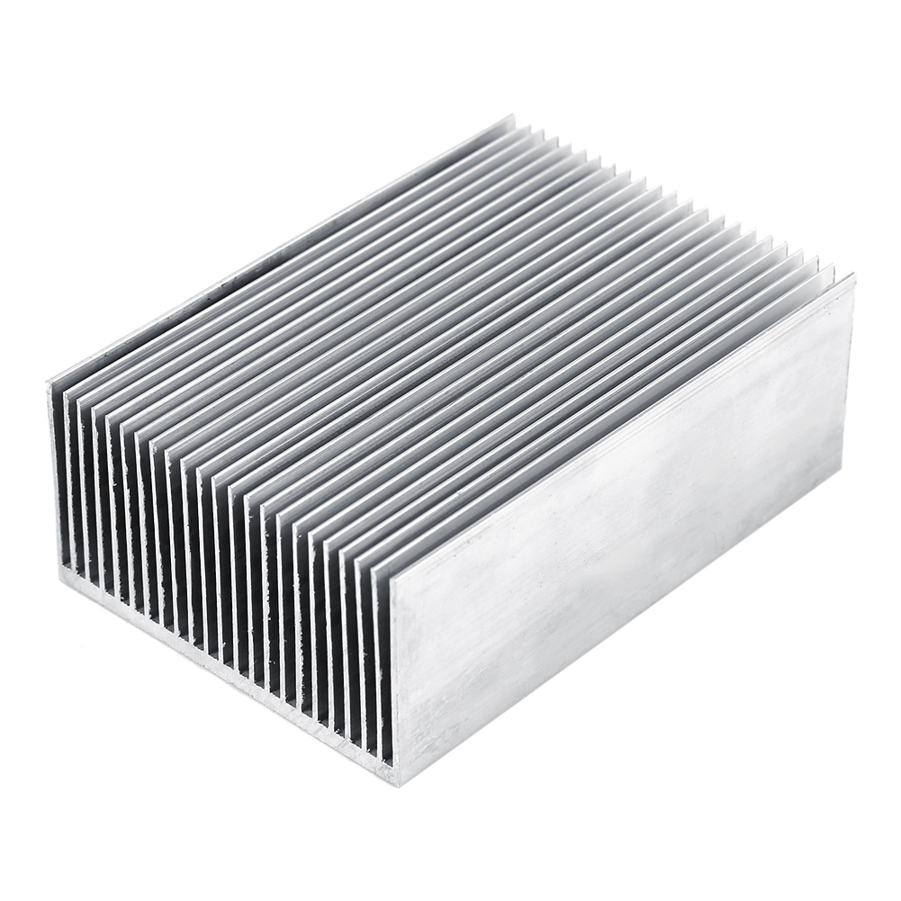 1pc Aluminum Heatsink Heat Sink Cooling For Led Amplifier Transistor IC Module  Power Amplifier Cooler Cooling 100X69X36mm