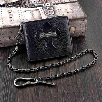 Leather Wallet w/ Key chain 1