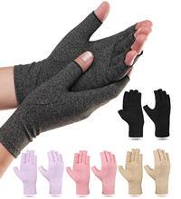 1 çift artrit eldiven dokunmatik ekran eldiveni Anti artrit terapi sıkıştırma eldiven ve ağrısı ağrı eklem kabartma kış sıcak