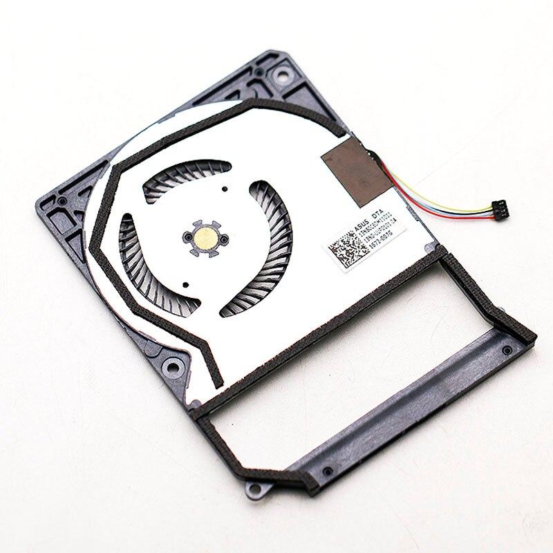 Original Delta NC55C03-16B15 DC5V 0.50A For ASUS T303U T303UA T304U T304UA Built-in CPU cooling fan