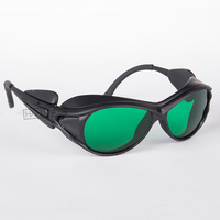 Red and Violet Laser Safety Goggles for 190-440nm & 600-760nm for 266  405nm 635  650  660nm  755nm O.D 4 + CE