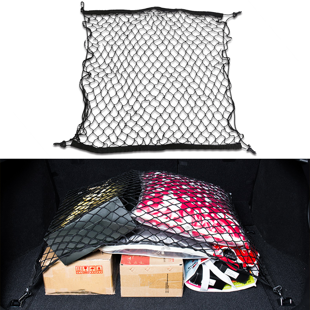 For <font><b>Hyundai</b></font> Creta <font><b>Hyundai</b></font> Ix25 2015-2020 Accent County <font><b>Santa</b></font> <font><b>Fe</b></font> Car Boot Trunk Mesh Net Cargo Organizer Storage Car <font><b>Accessories</b></font> image