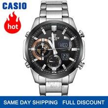 Casio Edifice watch men set luxury 100m impermeable dual dial Auto LED relojes cronógrafo luminoso hombres reloj de cuarzo reloj de pulsera Racing car sport relojes para hombres часы мужские relogio saati reloj hombre