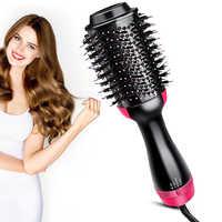 Profissional um passo secadores de cabelo e volumizer styler blow drier ventilador escova de ar quente secador de cabelo ferramentas estilo