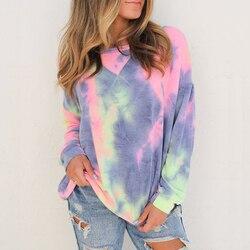 Mode Vrouwen Herfst Winter Top Lange Mouw Losse Hoodies en Sweater Elegante harajuku truien dames pullover Streetwear
