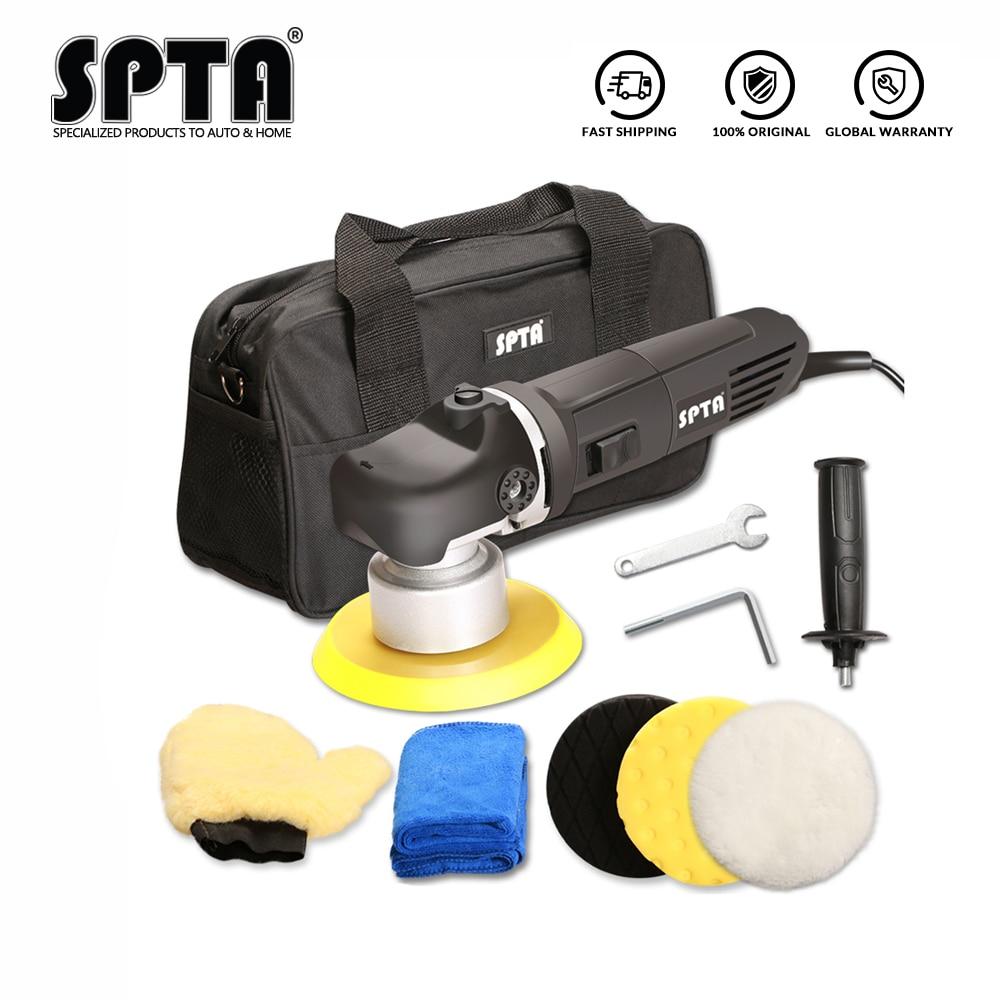 SPTA Dual Action Polishing Machine DA Car Wax Polisher Electric 220V 50Hz Input Power 850w GS EMC Backing Plate 150mm Polishing
