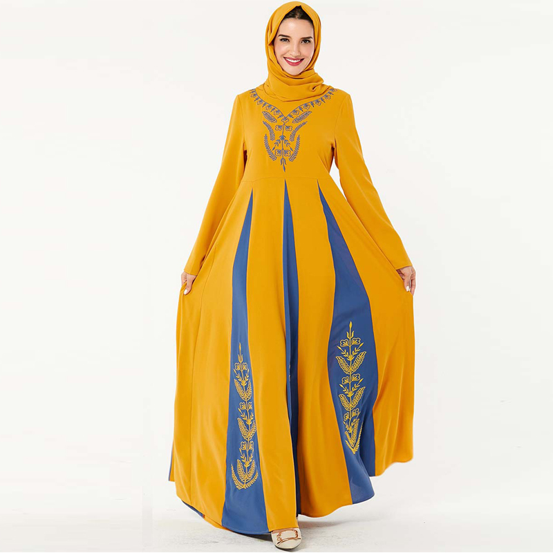 Winter Cotton Abaya Dubai Turkish Hijab Muslim Dress Saudi Arabia UAE Islamic Clothing Abayas For Women Caftan Kaftan Robe Islam