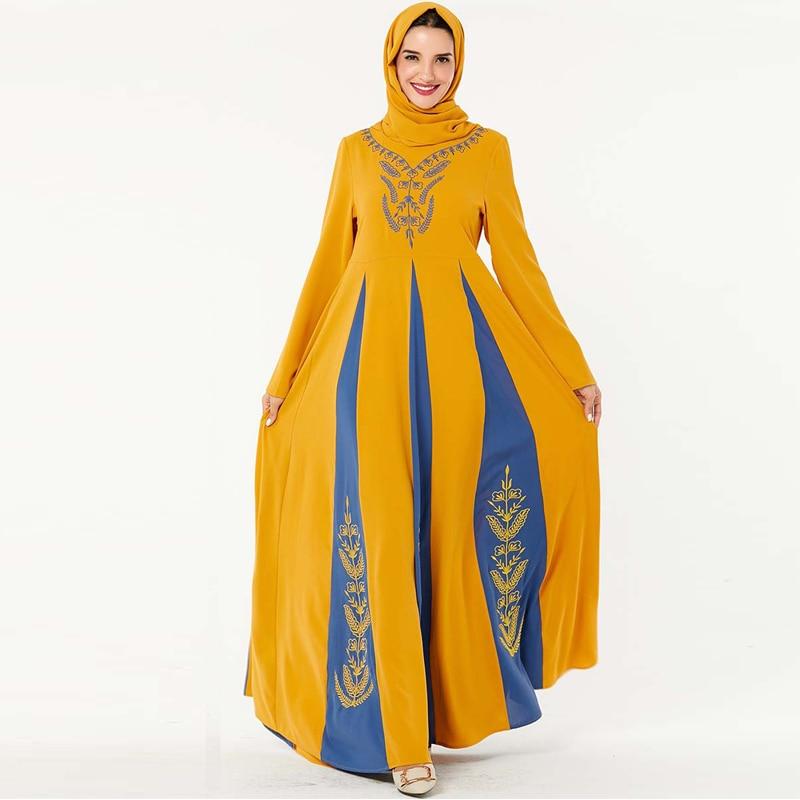 Winter Velvet Abaya Dubai Turkish Hijab Muslim Dress Saudi Arabia UAE Islamic Clothing Abayas For Women Caftan Kaftan Robe Islam