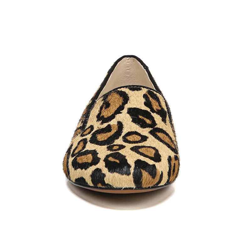 Leopard Loafers Boat Flats Animal Print