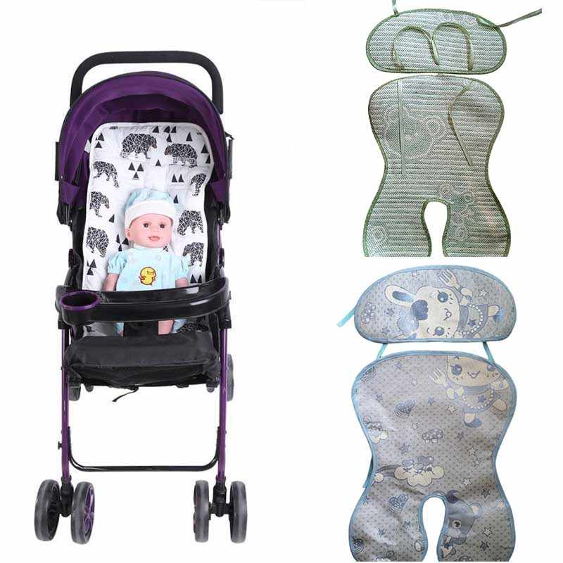 Infant Baby Stroller Mat Seat Cushion High Chair Dining Chair Pram Car Mattresses Carriages Seat Pad Stroller Mat Accessories