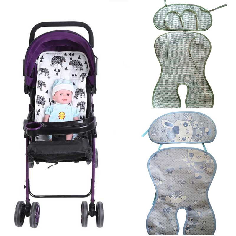Infant Baby Stroller Mat Seat Cushion High Chair Dining Chair Pram Car Mattresses Carriages Seat Pad Stroller Mat Accessories in Toddler Seat Mat from Mother Kids