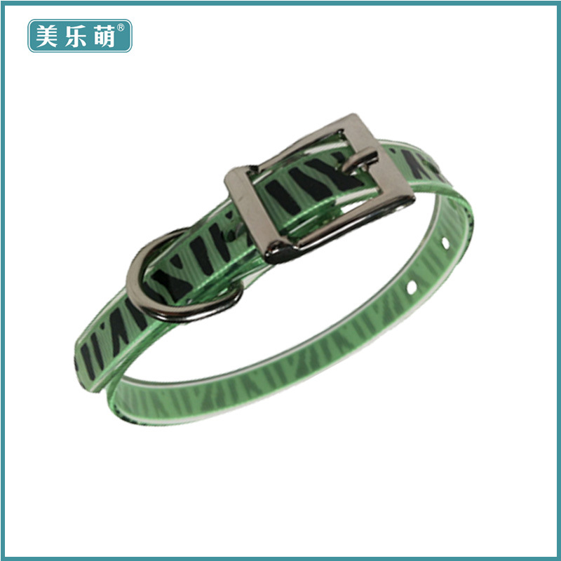 Hot Selling Hot Sales Pet Collar Tpu Small, Medium And Large Dog Daily Use Neck Ring Hand Holding Rope Factory Price