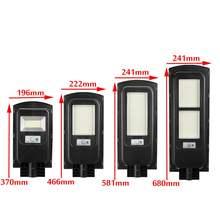 Farola Solar LED policristalino, lámpara Solar Led para exteriores, resistente al agua para patio de jardín de Plaza, 500W/1000W/1500W/2500W