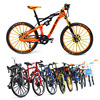 1:10 Alloy Bicycle Mini Model Diecast Metal Finger Mountain Bike Racing Toys Simulation Collection Toys for Kids
