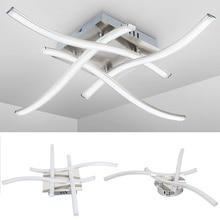 En forme de LED plafonnier 21W / 28W 3000K 6500K Led panneau lumière couloir veilleuse pour cuisine salon chambre décor lumière