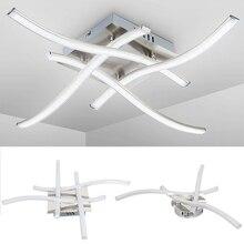 Förmigen Led deckenleuchte 21W / 28W 3000K 6500K Led Panel Licht Korridor Nacht Licht für Küche Wohnzimmer Schlafzimmer Decor Licht