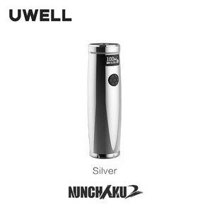 Image 5 - Uwell ヌンチャク 2 モッズ 100 ワット 6 軸 mems センサーサポート 18650 20700 21700 バッテリーフィット用ヌンチャク 2 タンク電子タバコ吸う