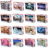 MOMEMO Puzzles de 1000 Peças Jogo de Puzzle Quebra-cabeças para Adultos Puzzle De Madeira Montagem de Brinquedos para Crianças Crianças Brinquedos Educativos
