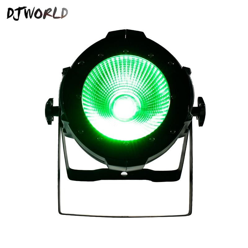 Djworld LED 200W COB LED Par Aluminum Alloy With Barn Doors 4in1 RGBW Lighting Lamp DMX For Stage Effect DJ Disco Best Seller