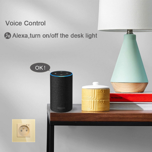 Image 4 - ACCKIP Wifi חכם תקע צרפתית 13A עם Google בית Alexa שלט רחוק את מכשיר קיר שקע