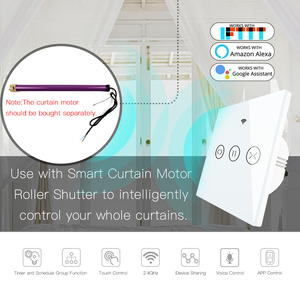 Image 4 - WiFi חכם וילון עיוור מתג חשמלי ממונע Tuya וילון רולר תריס עובד עם Alexa הד Google בית חכם בית