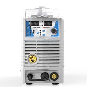 Image 3 - YESWELDER MIG200 200A ריתוך מכונה אין גז וגז MIG רתך עם אור משקל ברזל ריתוך מכונה שלב אחד 220V