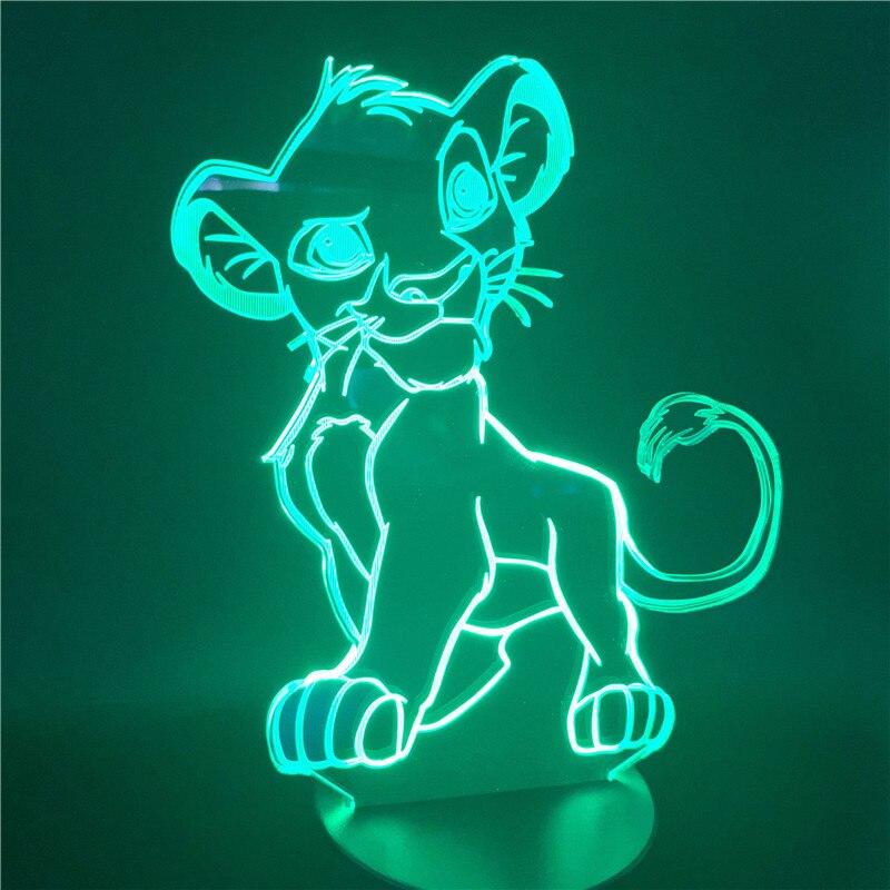 cor da lâmpada novidade quarto lâmpada cabeceira para o presente natal casa