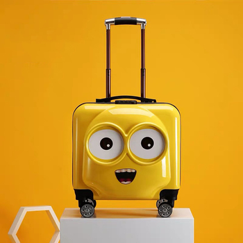 20 inch Kids Suitcase 3D cartoon Travel Luggage Children Rolling luggage cabin carry ons trolley cuitcase spinner wheels gift