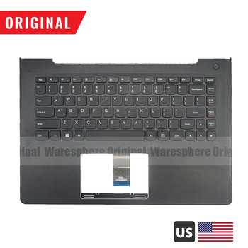 New Palmrest for Lenovo IdeaPad 500S-14ISK Top Cover Upper Case with US Non-Backlit Keyboard 5CB0H71431