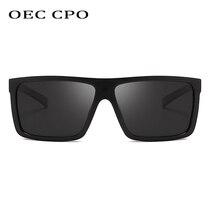 OEC CPO Polarized Sunglasses Men Brand Design Square Brand Design UV400 Driving Sun Glasses For Men oculos de sol PO103 цена и фото