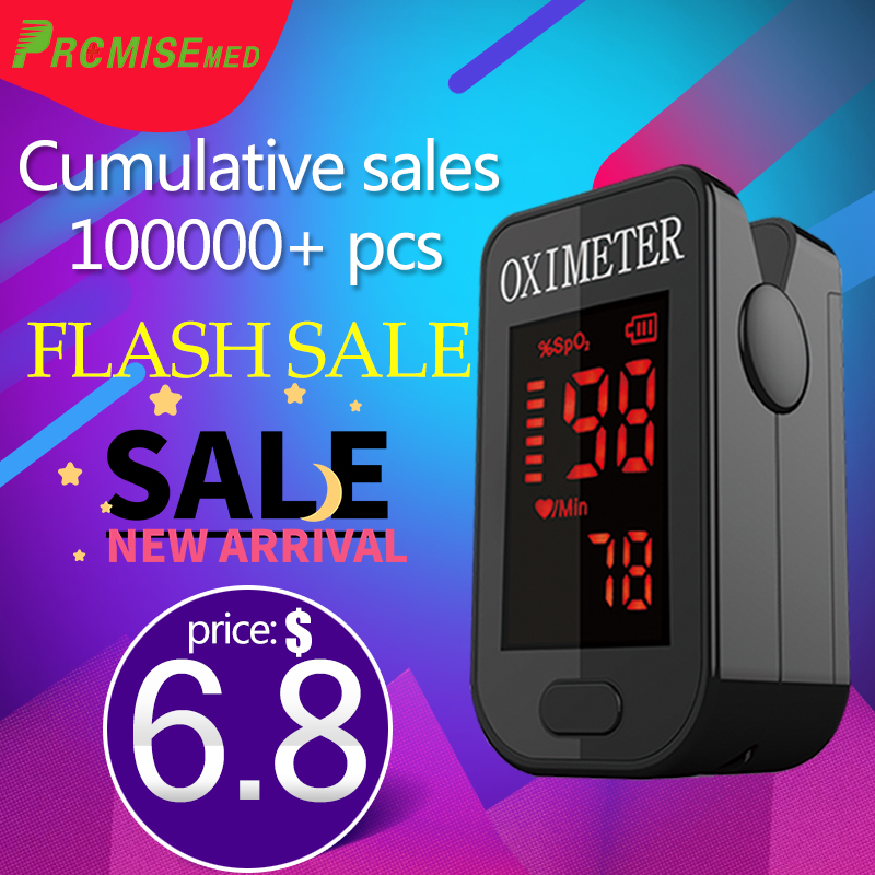 PRO-F4 Household Finger Pulse Oximeter,Heart Beat At 1 Min Saturation Monitor Pulse Heart Rate Blood Oxygen SPO2-multiple Colour