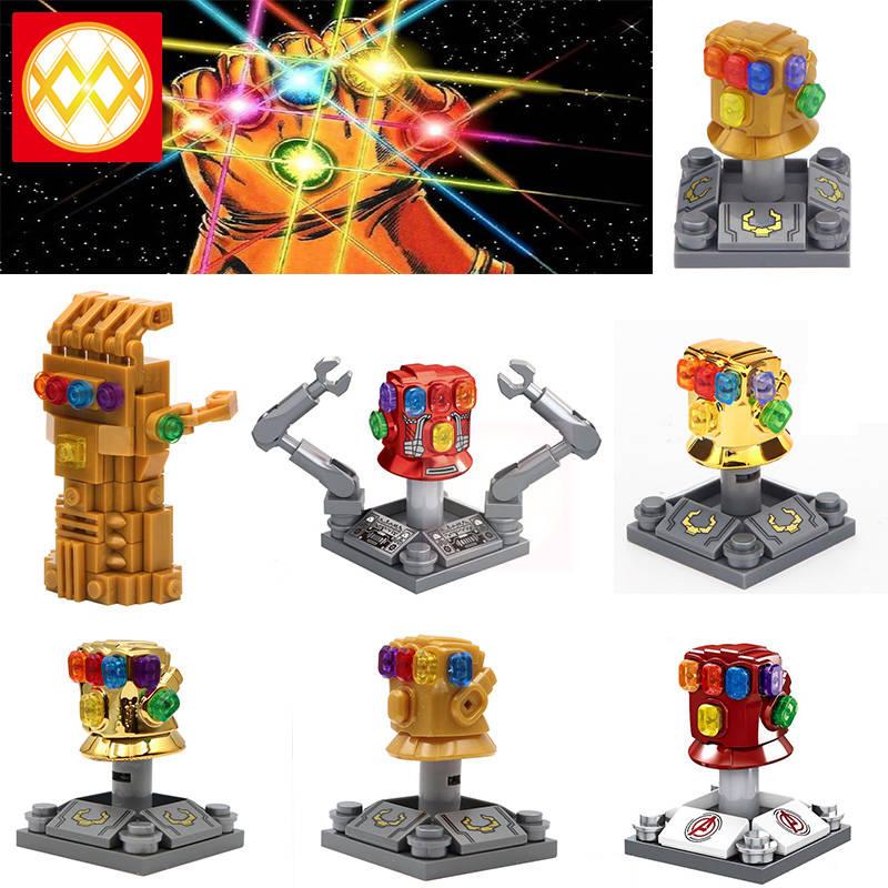 Infinity Gauntlet Thanos Glove Avengers Building Blocks Gift Toys Bricks
