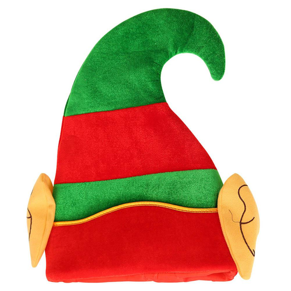 GloryStar Christmas Decoration Christmas Elf Cap Creative Cartoon Hat Suitable For Children Adult
