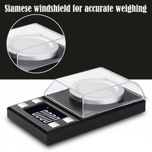 50g 0 001g electronic scales led luminous high precision digital jewelry medicinal herbs scale mini lab weight kitchen scale 0.001 Electronic Scales100g/50g/20g/10g LCD Digital Scale Jewelry Medicinal Herbs Portable Lab Weight Milligram Scale