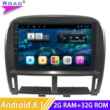 9'' Car Radio Android 8.1 Auto Multimedia Player For Lexus LS LS430 XF30 2003 2004 2005 2006 Stereo Car Head Unit GPS Navigation