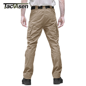 Image 2 - TACVASEN Tactical Pants Men Military Clothing Outdoor Work Cargo Pants Men Airsoft Army Combat Trousers Stretch Assault Pants