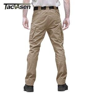 Image 2 - TACVASEN Taktische Hosen Männer Military Kleidung Outdoor Arbeit Cargo Hosen Männer Airsoft Armee Kampf Hose Stretch Assault Hosen
