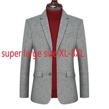 New Arrival Fashion Suepr Large Autumn Style Men Youth Fashionable Casual Suit Single Breasted Plus Size XL2XL3XL4XL5XL6XL7XL8XL
