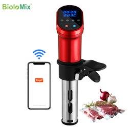 BioloMix 3-го поколения умный Wifi контроль Sous Vide плита 1200 Вт погружной циркулятор вакуумный нагреватель точная температура