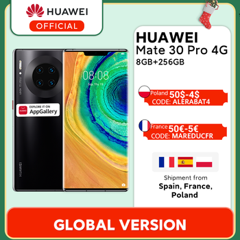 Оригинальный смартфон HUAWEI mate 30 Pro, 8 ГБ, 128 ГБ, 256 ГБ, 40 МП, тройная камера s, 32 МП, фронтальная камера, 6,53 дюйма, экран Kirin 990 mate 30 pro Скидка 600 руб. /. П...