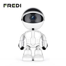 Fredi 1080 720pクラウドホームセキュリティipカメラロボットインテリジェント自動追尾カメラワイヤレス無線lan cctvカメラ監視カメラ
