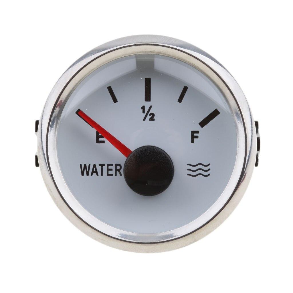 óleo & 52mm redondo medidor nível água
