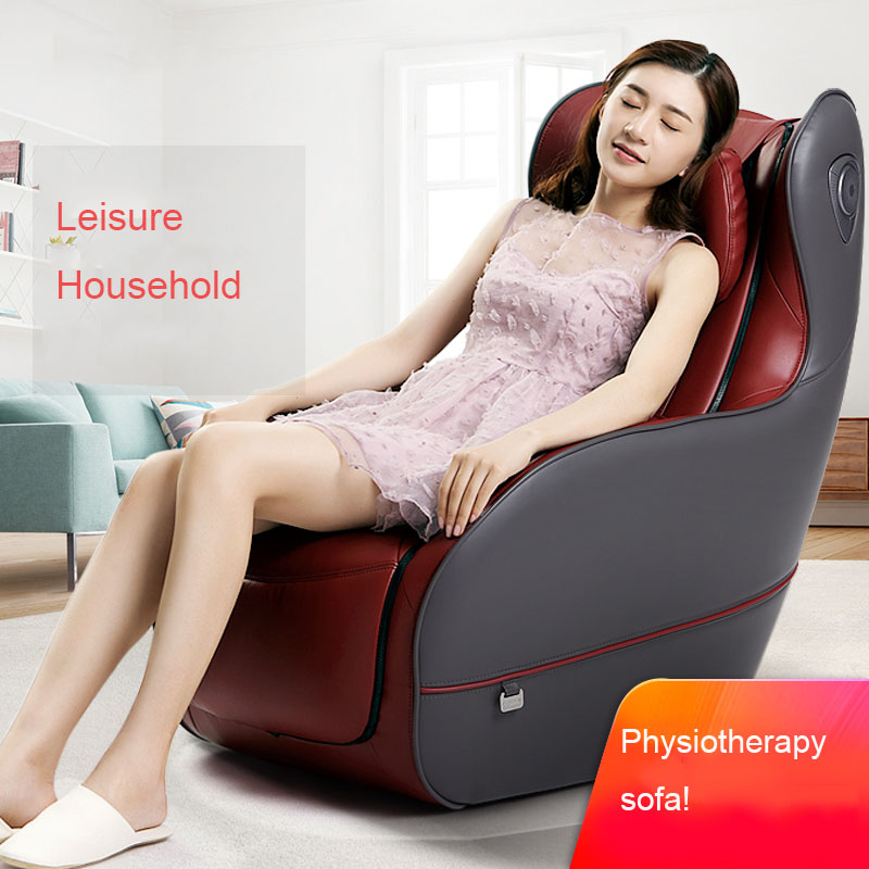 Physiotherapy Massage Chair Household Luxury Neck Waist Whole Body Multifunction Leisure Massage Sofa Small Fully Automatic