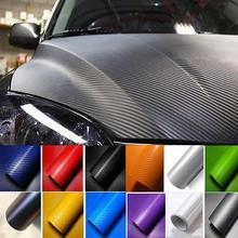 цена на Highlight Carbon Fiber Color Changing Film Glossy 6D Car Carbon Fiber Stickers Interior Film Car Stickers
