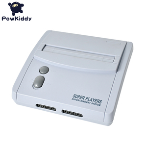 Image 4 - POWKIDDY D80 TV Video Game Console For S n e s 16 Bit Games With 100 In 1 SNES Game Cartridge (Can Battery Save)