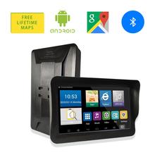 9 cal samochodowa nawigacja GPS Bluetooth WiFi z systemem Android FM Night Vision AV w 512M + 16G Nav GPS do ciężarówek nawigatorów pojazd samochodowy GPS tanie tanio Oriana 800x480 Nadajnik fm Mp3 mp4 Ekran dotykowy Pojazdów gps jednostki i sprzęt Android 4 4 2 ARM MTK8127 Cortex A7 x 4 1 3GHz