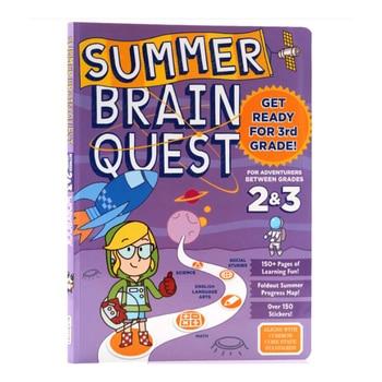 Brain Quest Workbook Kindergarten  Children's Puzzle Workbook Kindergarten Preschool English Enlightenment Learning