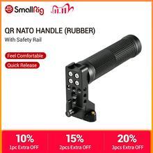 Smallrig Qr Nato Handvat (Rubber) Met Veiligheid Rail Quick Release Camera Handvat Universele Handgreep 2084
