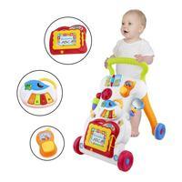 Caminhador para bebê  caminhador multifuncional para bebês  sentado a pé  para aprendizagem precoce da criança  nova atualização 2019 parafuso ajustável