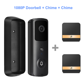HISMAHO Video Intercom Smart WI-FI Doorbell Camera 1080P HD Video Door Phone Security Wireless IR Night Vision For Apartments 12